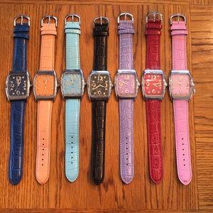 Genevex Watches - Set of 7